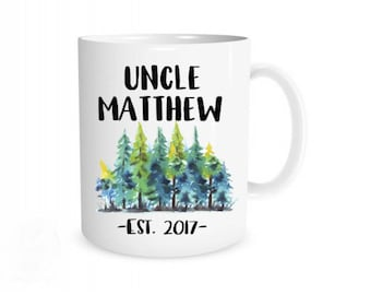 Uncle Mug I New Uncle Mug, New Uncle Gift, Uncle Coffee Mugs, Uncle Coffee Cup, Pregnancy Reveal, Gifts for Uncle, Pregnancy Announcement