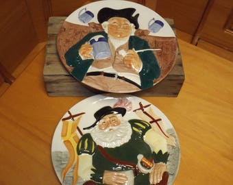 DAVENPORT POTTERY CO. Plates