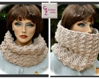 Oatmeal Outlander Inspired Cowl