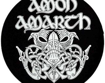Amon Amarth Odin Circular Back Patch