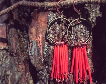 Red dangles