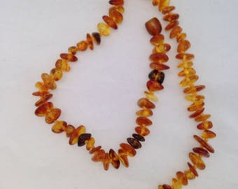 Genuine Baltic Amber Baby Infant Teething Pain Relief Necklace