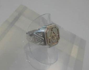 Masonic Ring, Masonic Jewellery, Sterling Silver Ring, Gold Masonic Ring, Gold Ring, Mens Ring, Mens Sterling Silver Ring, Mens Gold Ring