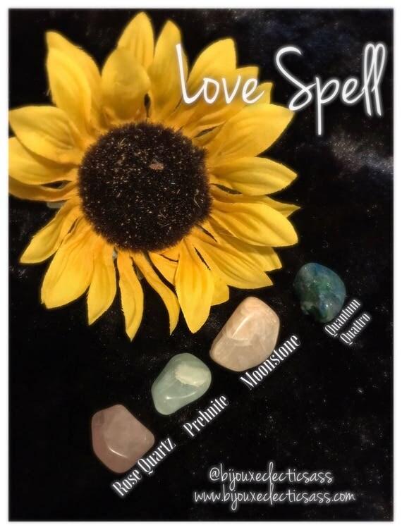 Love Spell Crystal Set