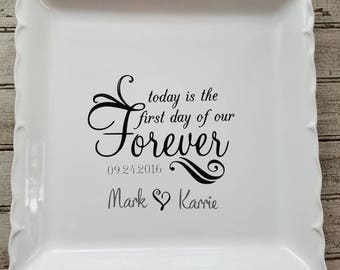 Today is the first day of our forever plate