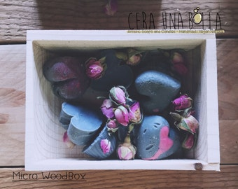 WOOD_BOXES # 1 (micro) + 2 soaps in choice