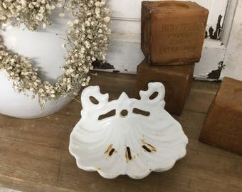 Ancient SOAP dish, shabby