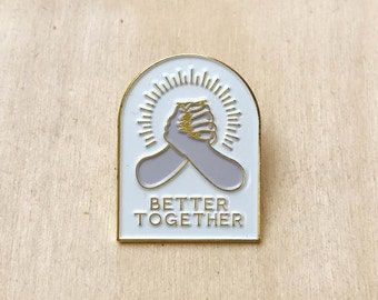 Better Together Lapel Pin
