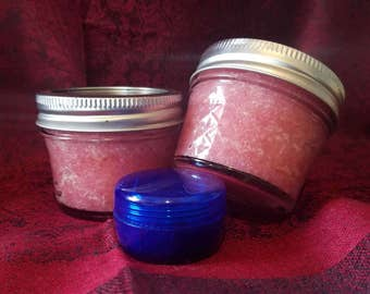 Organic Raspberry Sugar Scrub Travel Size