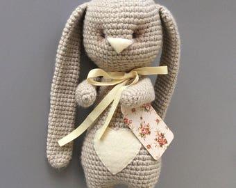 Crochet bunny! Crochet amigurumi bunny. Amigurumi  bunny! Bunny toy! bunny decor toy!