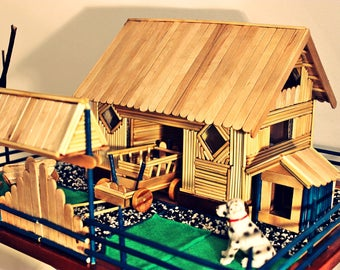 Handmade Miniature Rural Scenery