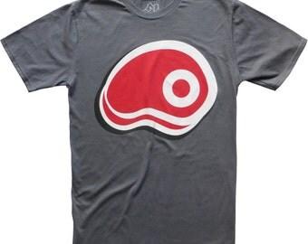 Steak Ribeye Design graphic t-shirt new