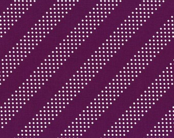 Cotton and Steel basics fabric in Purple