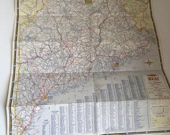 Maine-New Hampshire-Vermont Tour Map