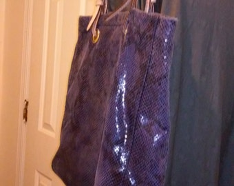 Purple bag hobo
