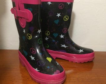 Girls Youth Rain Boots