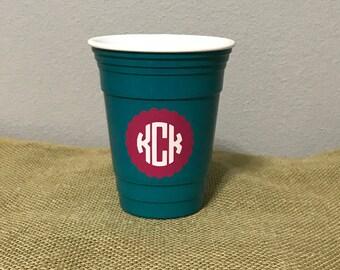 Cute monogram cup