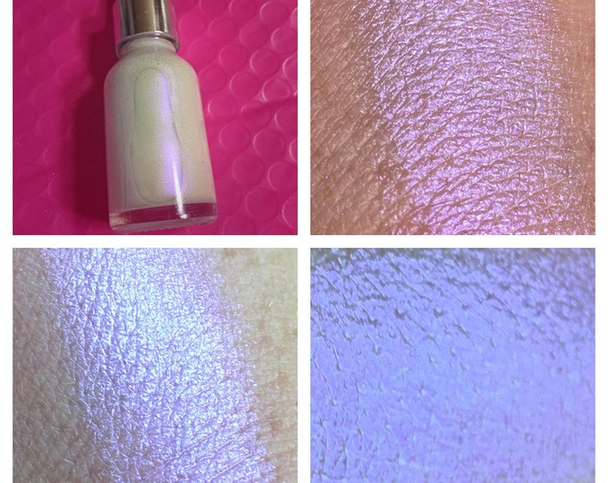 INVISIBLE GRAPE - SkinLite / Liquid Highlighter / illuminator - iridescent purple