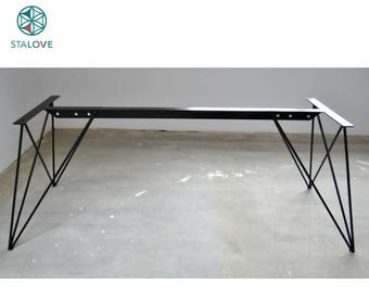 Unique Frame Set For Marble And Glass Tables. Butterfly Metal Table Legs  For Dining Room