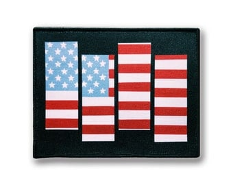 American Black Flag Patch