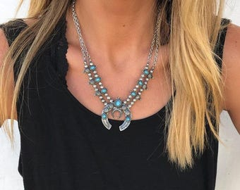 Free Stone Necklace