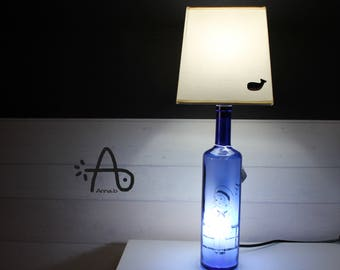 Artisan lamp Blue