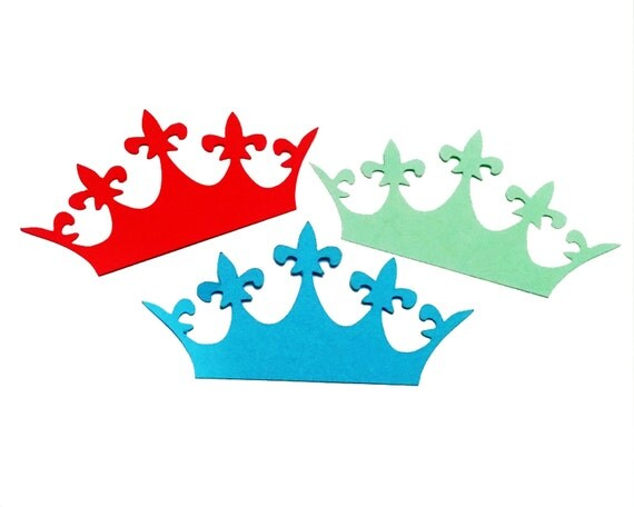 Paper Crowns, Paper Crown Cut Out, Crown Die Cut