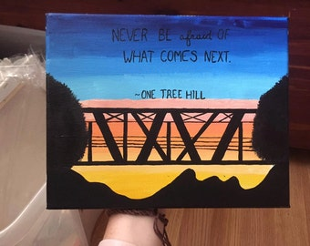 One Tree Hill Painting