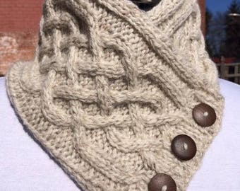 Irish Cable Neck Warmer