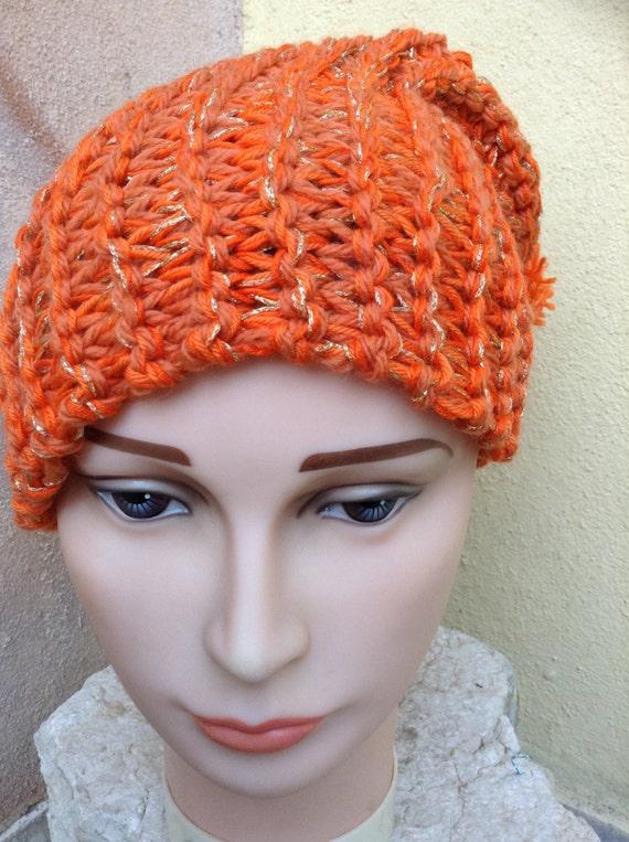 The magic Orange beret fashion ®