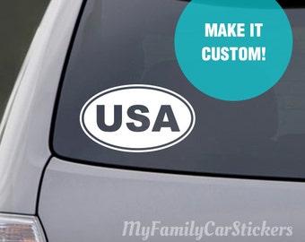 Custom Bumper Sticker Etsy - Custom car bumper stickers