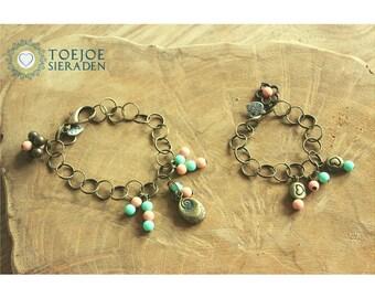 Bracelets set for mother and daughter!