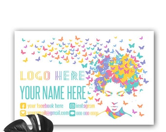 Yard Sign Banner Custom Butterfly Modern, Pop Up Boutique Banner, Customized Lawn Sign for Consultant, Personalized,