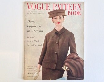 Vogue Pattern Book August - September 1956