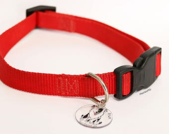 Pet dog tags made by hand