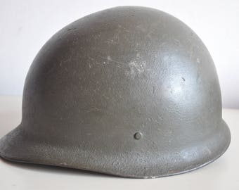 Helmet stahlhelm M62 BW size 55-57 Germany Helm Bundeswehr post war