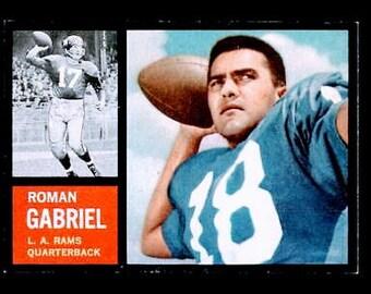 Vintage 1962 Topps #88 Roman Gabriel SP RC RARE