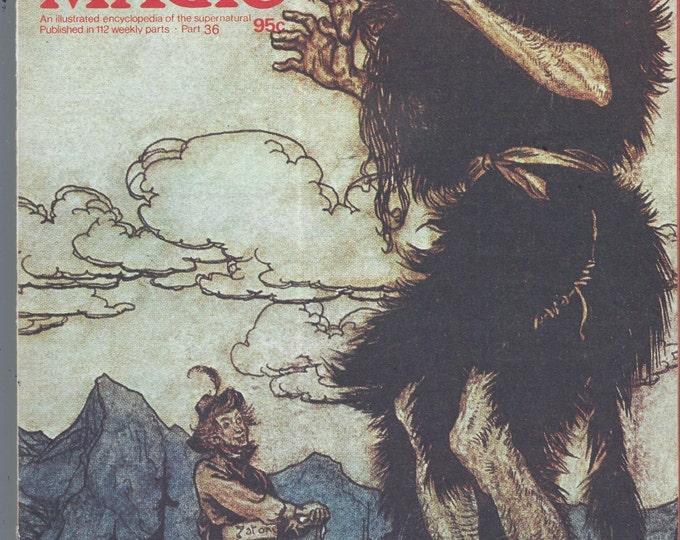 Man, Myth and Magic Part 36 Magazine by Richard Cavendish 1970