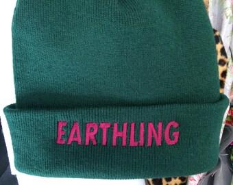 Earthling Vegan Veggie Beanie