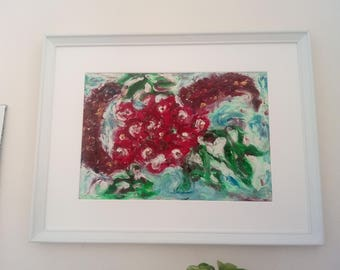 Oil of wild roses and buddleia