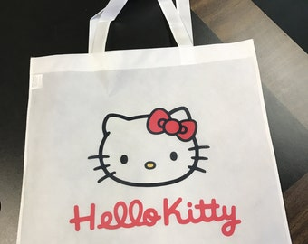 Custom Made Hello Kitty Tote Bag Personalized with your name