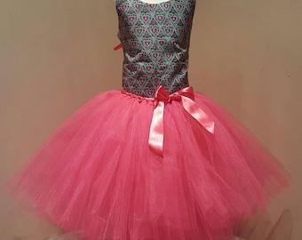 Glitter African Tutu Dress