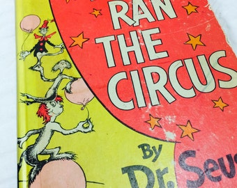 If I Ran The Circus by Dr. Seuss, Dr. Seuss, Vintage Dr. Seuss, Vintage Childrens Book, Dr. Seuss Collectibles