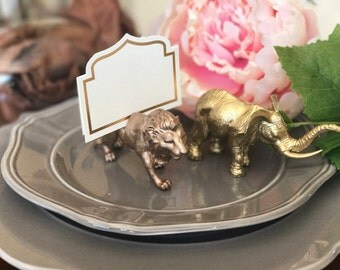 Place Card Holder, Wedding Accessories, Animals