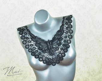 Lace insert - black - No. 20