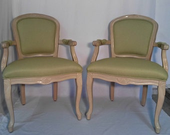 Set of Louis-style armchairs