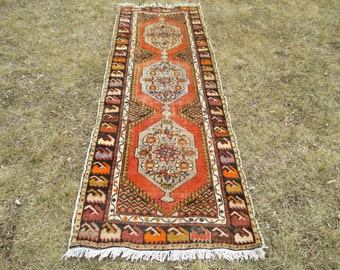 Runner rug Oushak Rug  Muted Color Rug  103 x 72 inches  Cappadocia Rug  Runner Rug Turkish Rug Turkish Runner Rugs