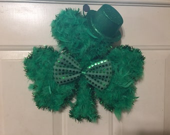 St.Patrick's Day wreath/wall deco