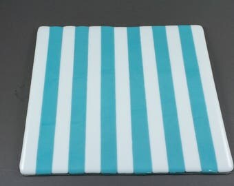 Blue and White Platter
