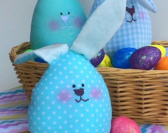 Easter decoration bunnies gift set, gift for easter, stuffed bunny, easter decoration, gift for children, soft toy, bunny toy, gift for kids